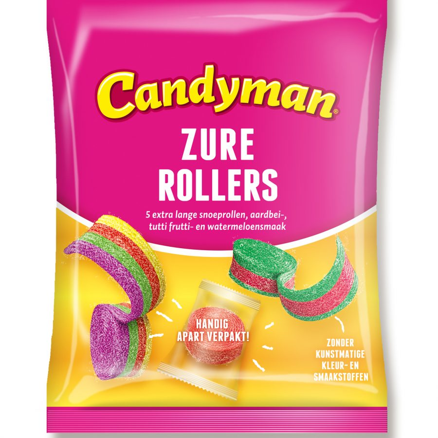 Candyman Zure rollers
